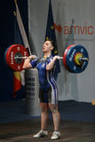 European Weightlifting Championship, Bucharest, Romania, 2009 Stock Images
