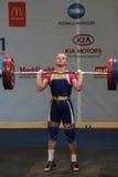 European Weightlifting Championship, Bucharest, Romania, 2009 Royalty Free Stock Photo