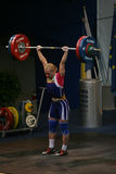 European Weightlifting Championship, Bucharest, Romania, 2009 Royalty Free Stock Images