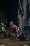 European Weightlifting Championship, Bucharest, Romania, 2009 Stock Photos