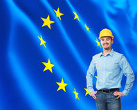 European worker Stock Images