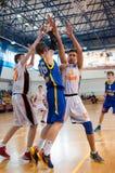 European youth basketball league Royalty Free Stock Photos