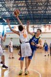 European youth basketball league Stock Photos