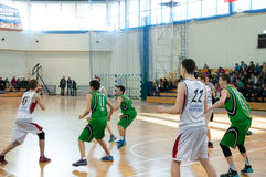 European youth basketball league Stock Photo
