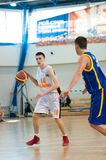 European youth basketball league Stock Images