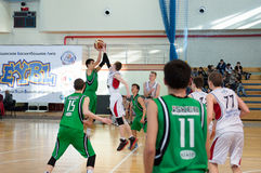 European youth basketball league Stock Photography
