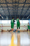 European youth basketball league Royalty Free Stock Images