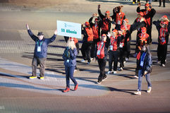 europeanen spelar olympiska spelspecialsommar Royaltyfri Fotografi