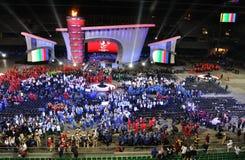 europeanen spelar olympiska spelspecialsommar Arkivbilder