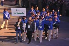 europeanen spelar olympiska spelspecialsommar Royaltyfri Bild