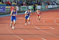 europeanen spelar olympiska spelspecialsommar Arkivfoto