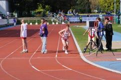 europeanen spelar olympiska spelspecialsommar Arkivfoton
