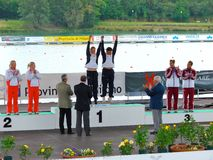 europeanflatwater för 2008 mästerskap Arkivbilder