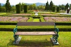 europeanträdgård Arkivbild