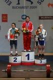 Europees Gewichtheffenkampioenschap, Boekarest, Roemenië, 2009 Royalty-vrije Stock Afbeeldingen
