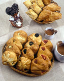 Europees ontbijt Stock Foto