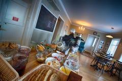 Europees Ontbijtbuffet Royalty-vrije Stock Afbeelding