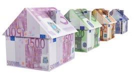 Europees Real Estate Royalty-vrije Stock Afbeeldingen