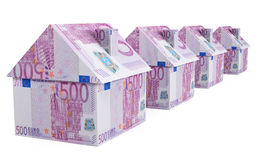 Europees Real Estate Royalty-vrije Stock Foto