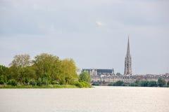 Europees stedelijk landschap stock foto