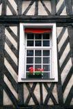 Europees venster stock foto's