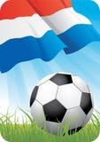 Europees voetbalkampioenschap 2008 - Nederland vector illustratie