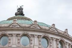 Europeisk arkitektur arkivfoto