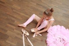 Europeisk ballerina Arkivbild