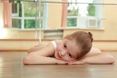 Europeisk ballerina Arkivfoton