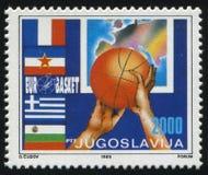 Europeisk basket Chempionship Royaltyfria Bilder