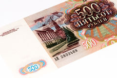 Europeisk currancysedel, rysk rubel Royaltyfri Foto
