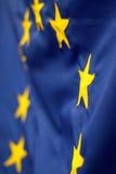 Europeisk detalj för facklig flagga Arkivfoton