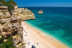 europeisk ferie för strand Royaltyfria Foton