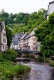 europeisk gammal town Royaltyfri Foto