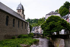 europeisk gammal town Fotografering för Bildbyråer
