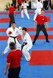 europeisk karatewuko för mästerskap Royaltyfri Fotografi