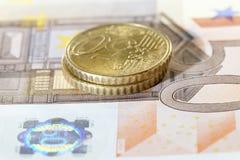 Europeisk kassa royaltyfri foto