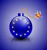 Europeisk krissymbol Arkivfoto