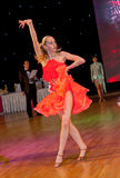 Europeisk mästerskap WADF för konstnärlig dans Royaltyfri Fotografi