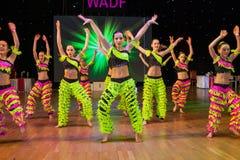 Europeisk mästerskap WADF för konstnärlig dans Arkivfoto
