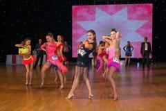 Europeisk mästerskap WADF för konstnärlig dans Royaltyfri Foto
