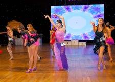 Europeisk mästerskap WADF för konstnärlig dans Royaltyfri Bild