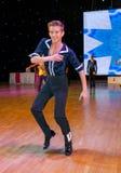 Europeisk mästerskap WADF för konstnärlig dans Royaltyfria Foton
