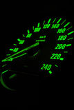 europeisk odometersport för bil arkivfoto