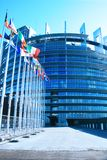 europeisk parlament Royaltyfri Fotografi
