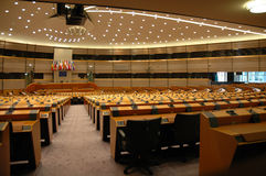 europeisk parlament Royaltyfria Foton