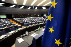 europeisk parlament Royaltyfri Bild