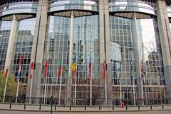 europeisk parlament royaltyfria foton