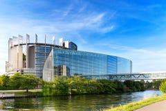 europeisk parlament strasbourg Arkivfoton
