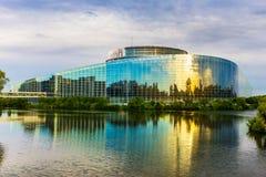 europeisk parlament strasbourg Royaltyfri Foto